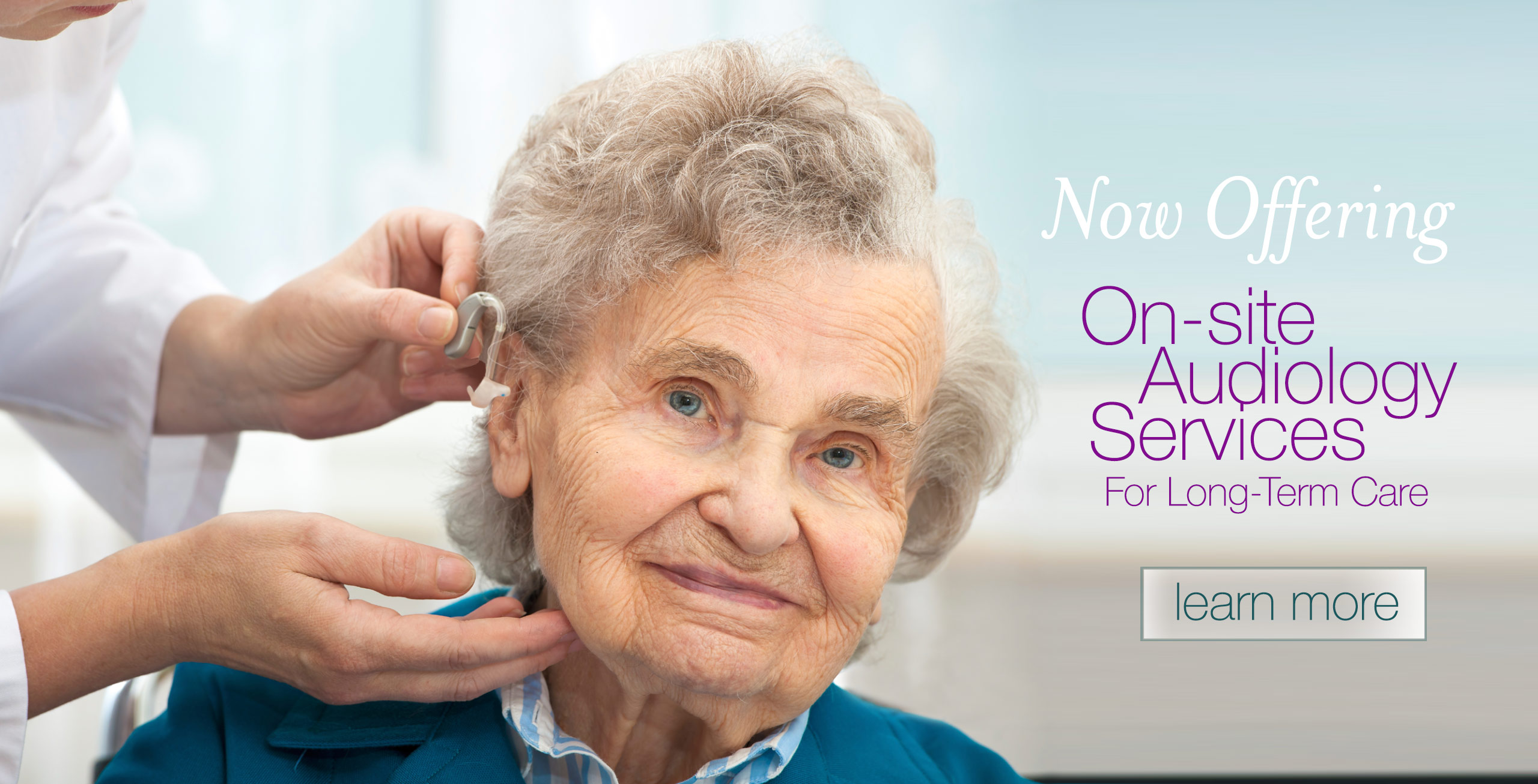 On-Site Audiology Services for Long-Term Care Facilities