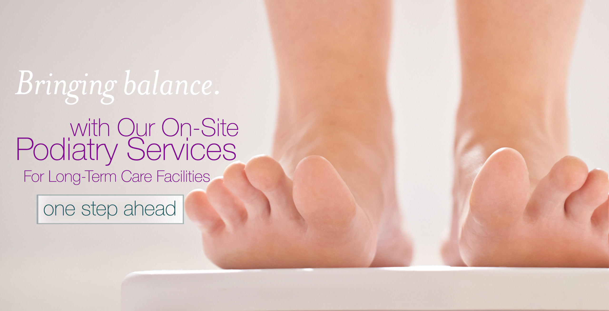 On-site Podiatry Services for Long-Term Care Facilities